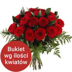 Bukiet 14 róż Telekwiaciarnia
